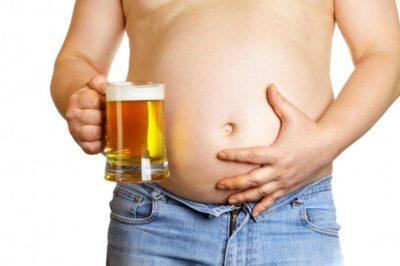Возникновение запора после употребления алкоголя